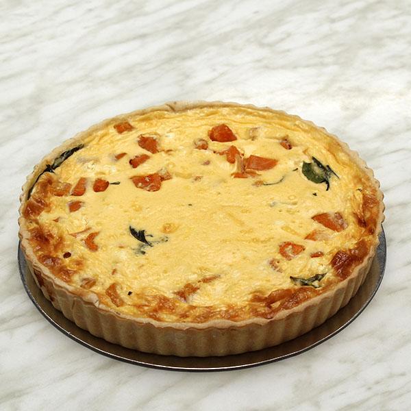 savoury-quiche-roast-pumpkin-vegetarian-gusto-bakery