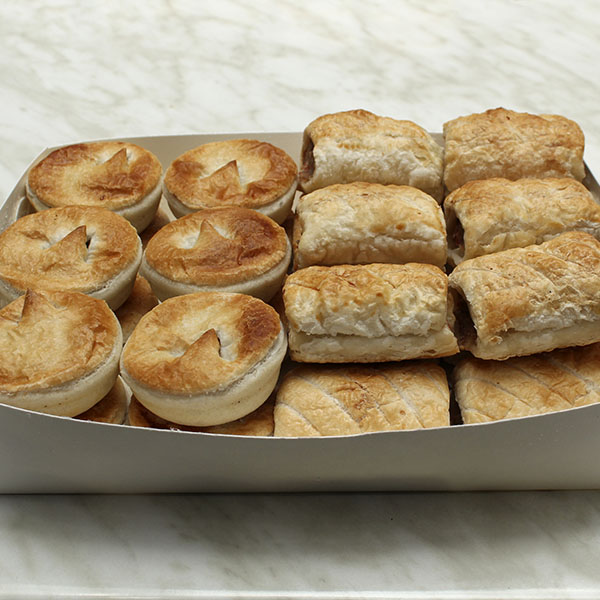 Party Pies And Party Sausage Rolls