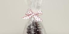 seasonal-christmas-chocolate-roast-almond-tree-wrapped-gusto-bakery
